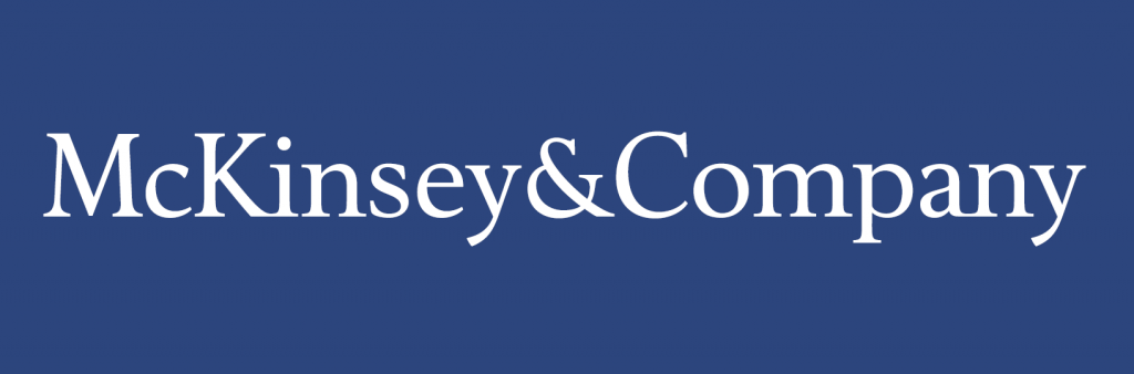 The leading consulting firm in the world. McKinsey